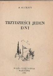 Okładka książki 31 dni Anatolij Aleksin