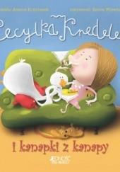 Okładka książki Cecylka Knedelek i kanapki z kanapy Joanna Krzyżanek