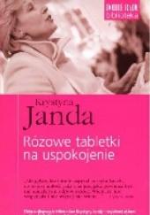 Okładka książki Różowe tabletki na uspokojenie Krystyna Janda