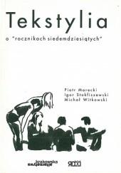 Okładka książki Tekstylia. O