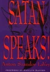 Okładka książki Satan speaks! Anton Szandor LaVey