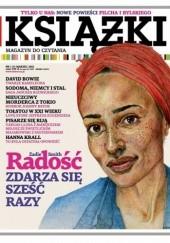 Okładka książki Książki. Magazyn do czytania, nr 1 (8) / marzec 2013 Redakcja magazynu Książki