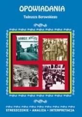 Okładka książki Opowiadania Tadeusz Borowski