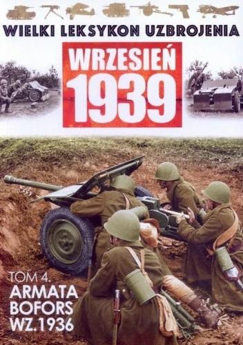 Okładka książki Armata BOFORS wz.1936 Andrzej konstankiewicz