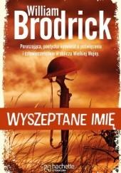 Okładka książki Wyszeptane imię William Brodrick