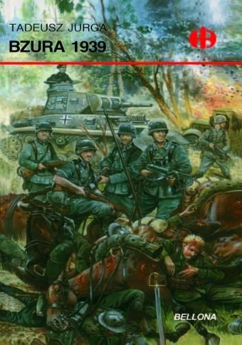 Okładka książki Bzura 1939 Tadeusz Jurga