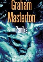 Okładka książki Panika Graham Masterton
