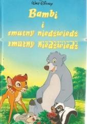 Okładka książki Bambi i smutny niedźwiedź Walt Disney
