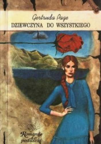 Okładka książki Dziewczyna do wszystkiego Gertruda Page