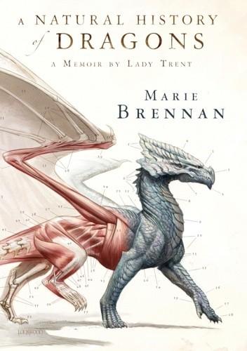 Okładka książki A Natural History of Dragons. A Memoir by Lady Trent Marie Brennan