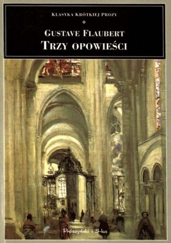 Okładka książki Trzy opowieści Gustave Flaubert