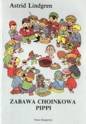 Okładka książki Zabawa choinkowa Pippi Astrid Lindgren