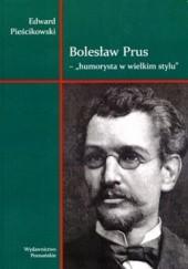 Okładka książki Bolesław Prus - humorysta w wielkim stylu