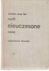 Okładka książki Myśli nieuczesane nowe Stanisław Jerzy Lec