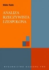 Okładka książki Analiza rzeczywista i zespolona Walter Rudin