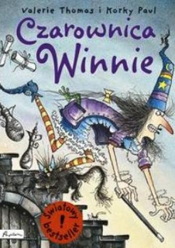 Okładka książki Czarownica Winnie Korky Paul,Valerie Thomas