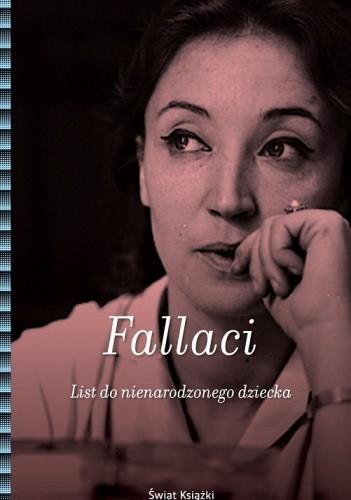 Okładka książki List do nienarodzonego dziecka Oriana Fallaci