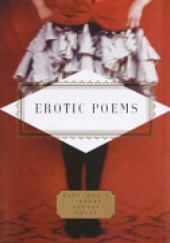 Okładka książki Erotic Poems Peter Washington