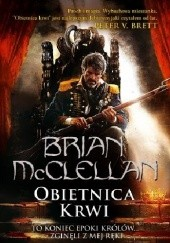Okładka książki Obietnica krwi Brian McClellan