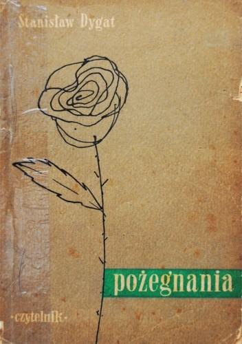 Okładka książki Pożegnania Stanisław Dygat