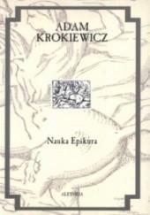 Okładka książki Nauka Epikura Adam Krokiewicz