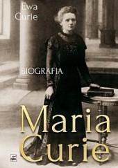 Okładka książki Maria Curie Ewa Curie