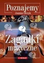 Okładka książki Zagadki muzyczne Joanna Olczyk