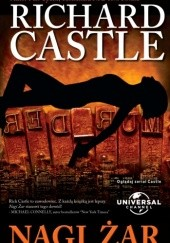 Okładka książki Nagi żar Richard Castle