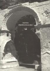 Okładka książki Notes prowansalski praca zbiorowa