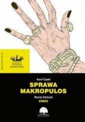 Okładka książki Sprawa Makropulos Karel Čapek