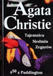 Okładka książki Tajemnica Siedmiu Zegarów; 4.50 z Paddington Agatha Christie