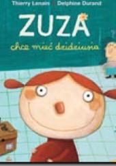Okładka książki Zuza chce mieć dzidziusia Delphine Durand,Thierry Lenain
