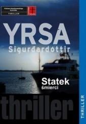 Okładka książki Statek śmierci Yrsa Sigurdardóttir