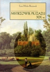 Okładka książki Mistrzowie pejzażu XIX w.
