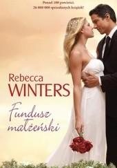 Okładka książki Fundusz małżeński Rebecca Winters
