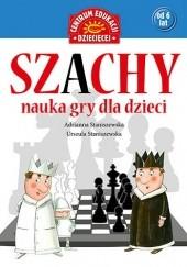 Okładka książki Szachy. Nauka gry dla dzieci Adrianna Staniszewska