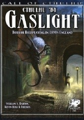 Okładka książki Gaslight - Cthulhu w świetle gazowych latarni