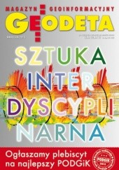 Okładka książki Geodeta. Magazyn geoinformacyjny, nr 4 (215) / 2013 Redakcja Magazynu Geodeta,Slawomir Mleczko,Arkadiusz Piechota,Dawid Kudas