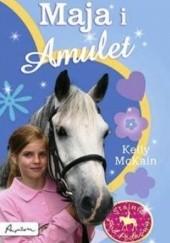 Okładka książki Maja i Amulet Kelly McKain