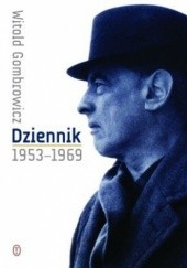 Okładka książki Dziennik 1953-1969 Witold Gombrowicz