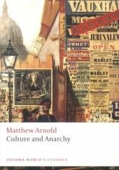 Okładka książki Culture and Anarchy Matthew Arnold