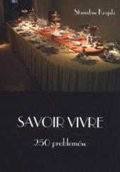 Okładka książki Savoir vivre 250 problemów Stanisław Krajski
