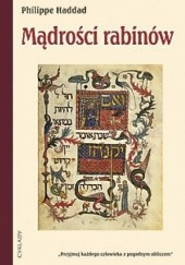 Okładka książki Mądrości rabinów Philippe Haddad