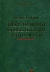 Okładka książki Trzy dialogi między Hylasem a Philonousem George Berkeley