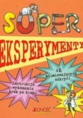 Okładka książki Super eksperymenty Chris Oxlade