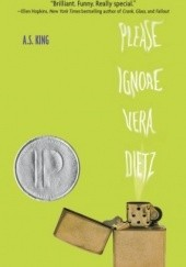 Okładka książki Please Ignore Vera Dietz A. S. King