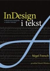 Okładka książki InDesign i tekst. Profesjonalna typografia w Adobe® InDesign® Nigel French