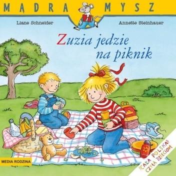 Okładka książki Zuzia jedzie na piknik Liane Schneider,Annette Steinhauer