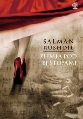 Okładka książki Ziemia pod jej stopami Salman Rushdie