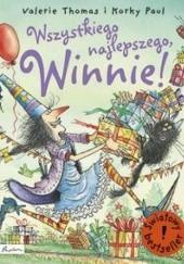 Okładka książki Wszystkiego najlepszego, Winnie!